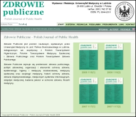 Polish Journal of Public Health Website